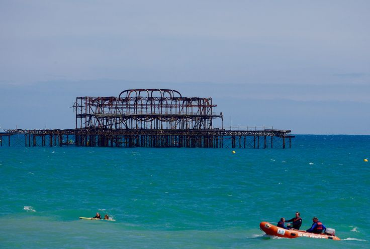 Paddle round the pier.