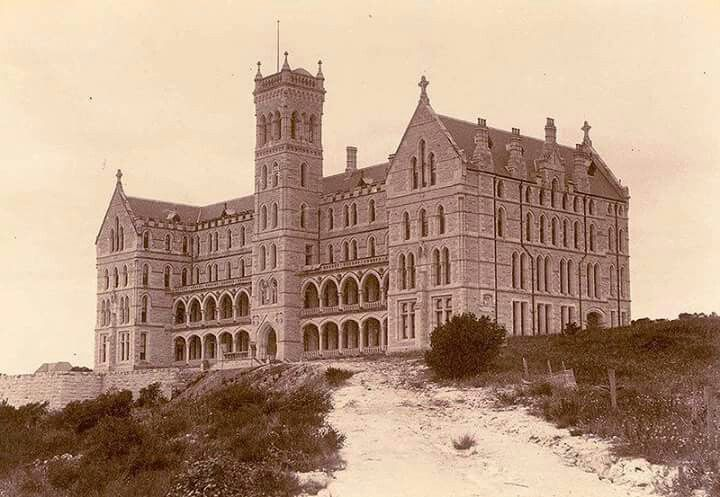 St Patricks Seminary in Manly in 1900.The building was built in 1885 and was originally the principal training facility for priests in Australia.It is now The International College of Management.A♥W