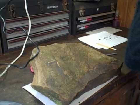 Engraving Your Address On a Rock
