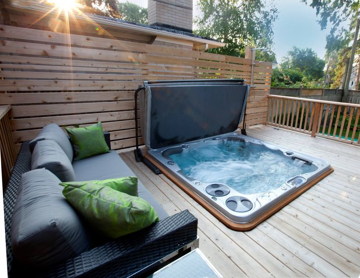 17 Best ideas about Piscine Et Spa on Pinterest Jaccuzi, Piscine jacuzzi and Jacuzzi bois # Jacuzzi Bois Exterieur Pour Terrasse