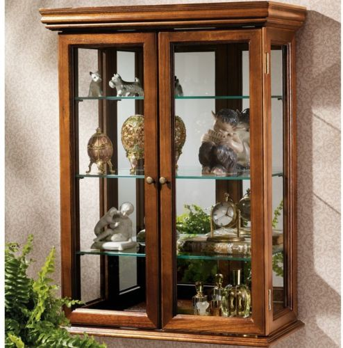 CHECK OUT! https://seethis.co/ElKGgw/ #Curio #Cabinet #Country #Tuscan #Wall #Mounted #Wooden #Frame #Display #Den #Dining #Room