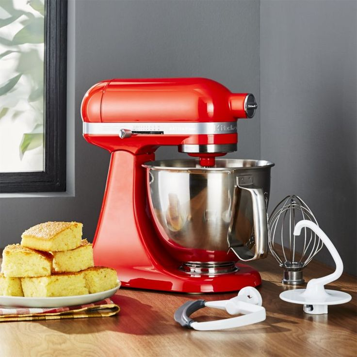 Shop KitchenAid ® Artisan Hot Sauce Mini Mixer with Flex Edge Beater.   Receive a $30 Visa Prepaid Gift Card when you purchase a KitchenAid Artisan or Mini Mixer with mail-in-rebate.  Use this   now through March 5.