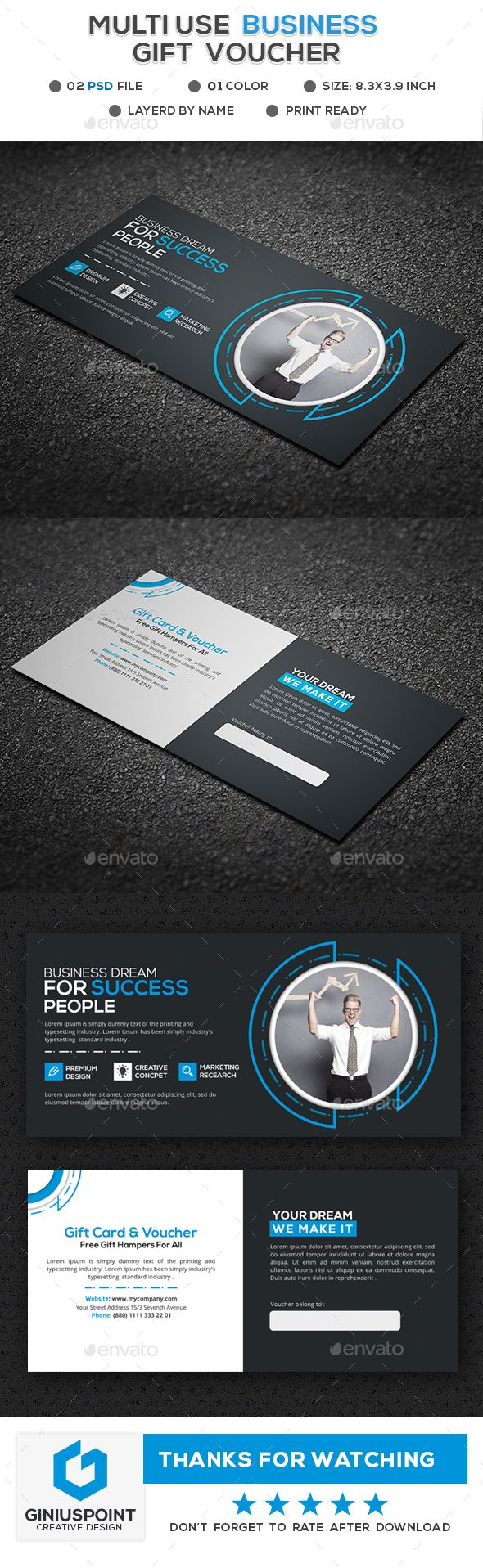 874 best Special Gift Voucher Templates images on Pinterest ...