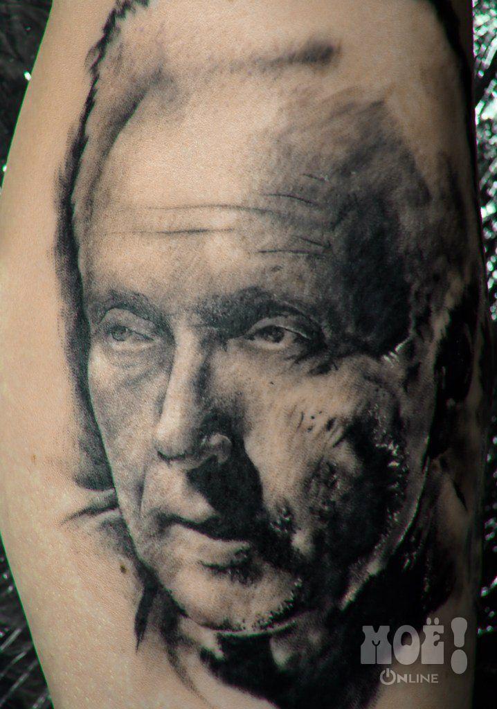 """Работы воронежских тату-мастеров в жанре """"портрет"""" / Works of Voronezh tattoo artists in the portrait genre"""
