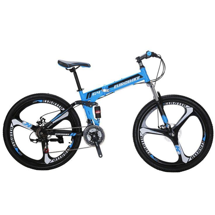 Mountain Bike Foldable Frame 26 21 Speed Folding Bicycle Full