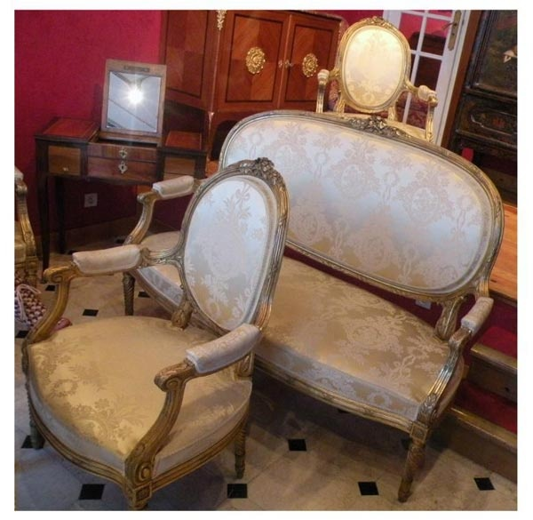 18 best salons images on pinterest lounges armchairs and louis xvi - Salon louis xvi ...