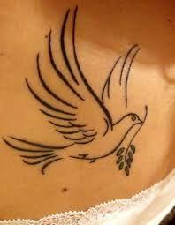 Bildergebnis für tattoo friedenstaube