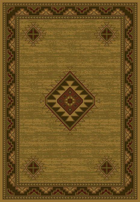 Laramie Gold Area Rug buy Southwestern #rugs at Lights in the Northern Sky http://www.lightsinthenorthernsky.com