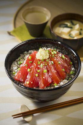 まぐろ漬け丼 by ハウス食品株式会社 [クックパッド] 簡単おいしい ...