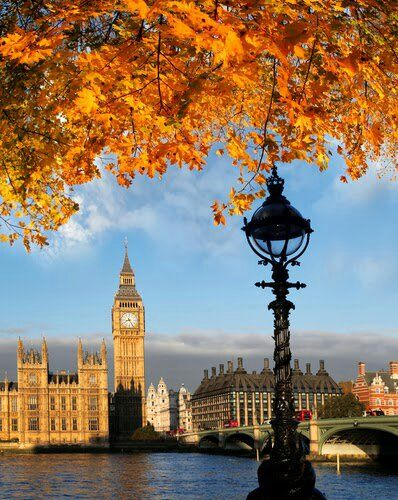 summer is over and autumn is on its way in London, England