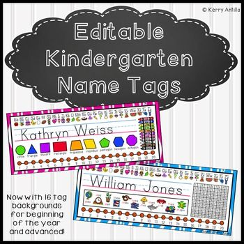 25 best ideas about kindergarten name tags on pinterest preschool name tags cubby name tags for Preschool name tags ideas