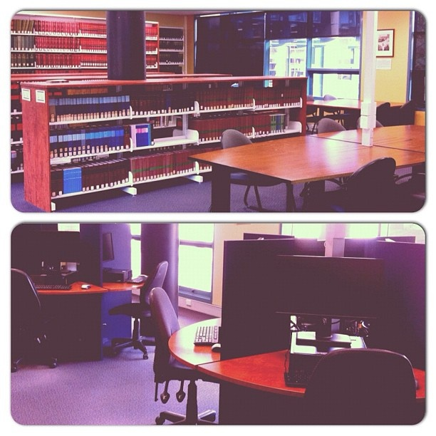 The lonely law library #bondlibrary