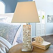 By Cindy Crawford: Mother Of Pearl Table, Idea, Table Lamps, Living Room, Mother Of Pearls, Master Bedrooms, Cindy Crawford