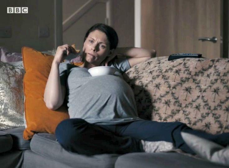 In The Dark Bbc1 Myanna Buring Helen Weeks Fake Baby