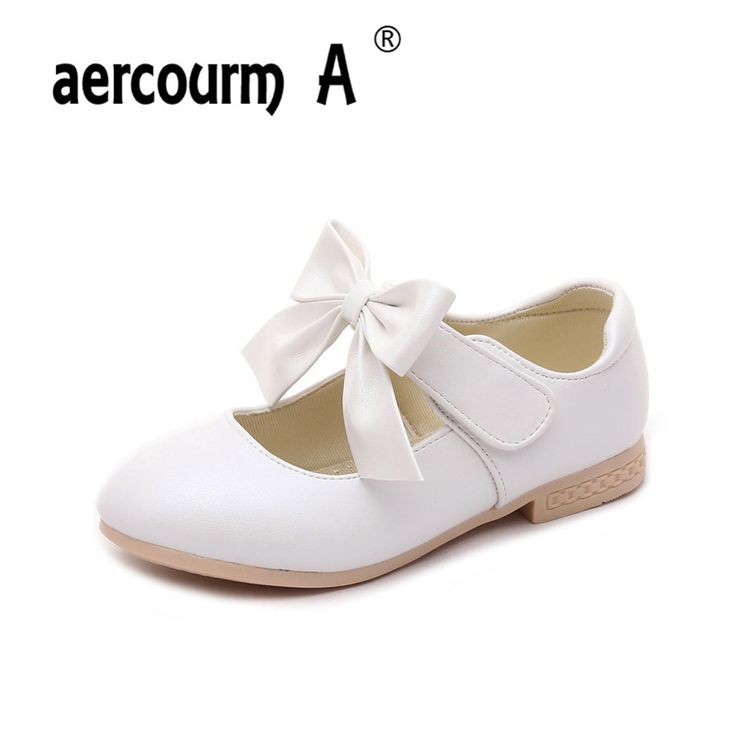 aercourm A Children Wedding Shoes Girls Sneakers Princess Shoes Fashion Flat Girls Shoes Kids Party shoes Casual Sneakers 26-36 #Affiliate