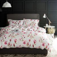 Pastoral Floral juego de Cama de Impresión 60 S tela de Seda de algodón Egipcio cubierta 4 Unids Reina rey juego de cama Edredón conjunto Sábana almohada