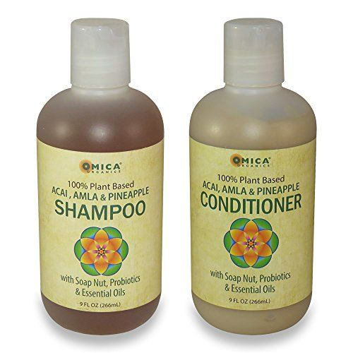100 PlantBased Shampoo  Conditioner Set * Click image for more details.(This is an Amazon affiliate link and I receive a commission for the sales)
