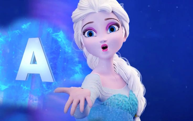 Frozen Alphabet ABC Song | English Alphabet | Learn the ABC's
