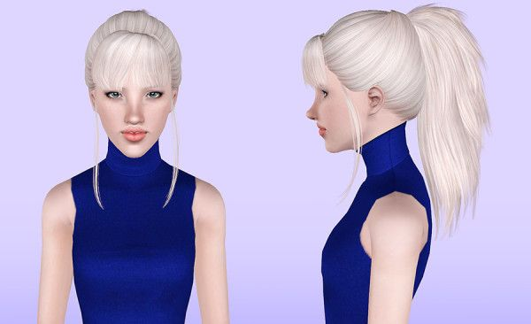 Skysims 217 hairstyle retextured by Porcelain