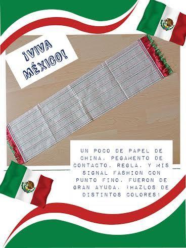¡Signal Fashion para tus manualidades patrias!