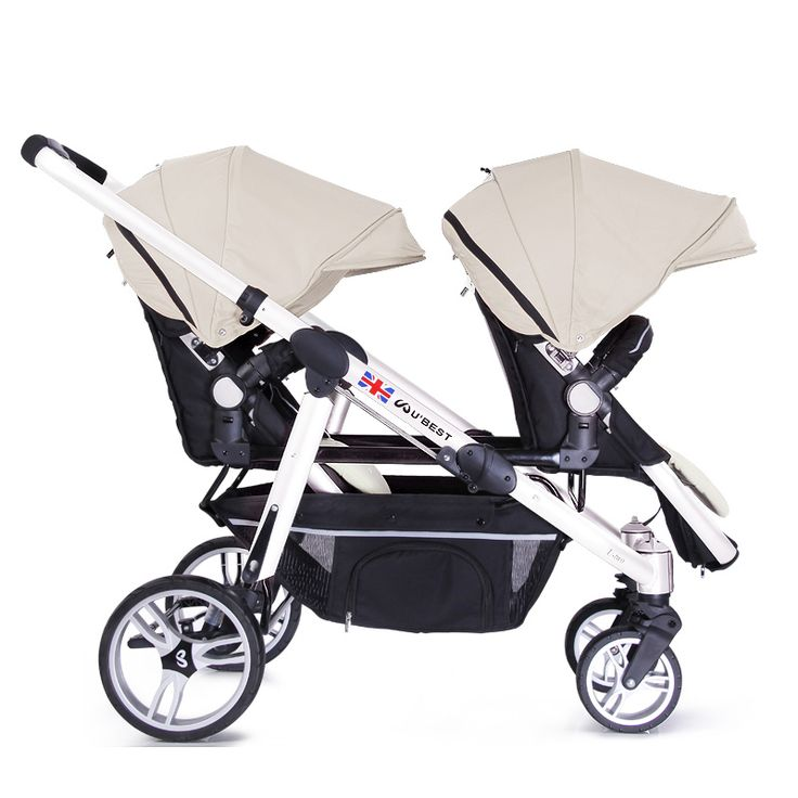 Brand Luxury Twin Strollers Face to Face Double Baby Stroller Lightweight Pram can Sit or Lie Infant Kids Pushchairs Accessories