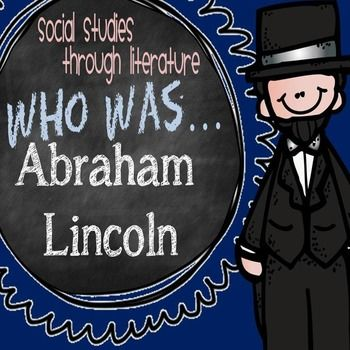 This product contains foldable biography study trifolds for the book  Who Was Abraham Lincoln?  Designed to be used whole-class, small group, or as an individual book study. Each section of the foldable trifold focuses on a different essential reading comprehension skill and aligns with state and Common Core standards.