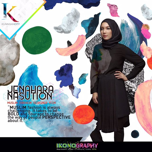 Jenahara Nasution  Muslim Fashion Designer Icon  Ikonography 2016