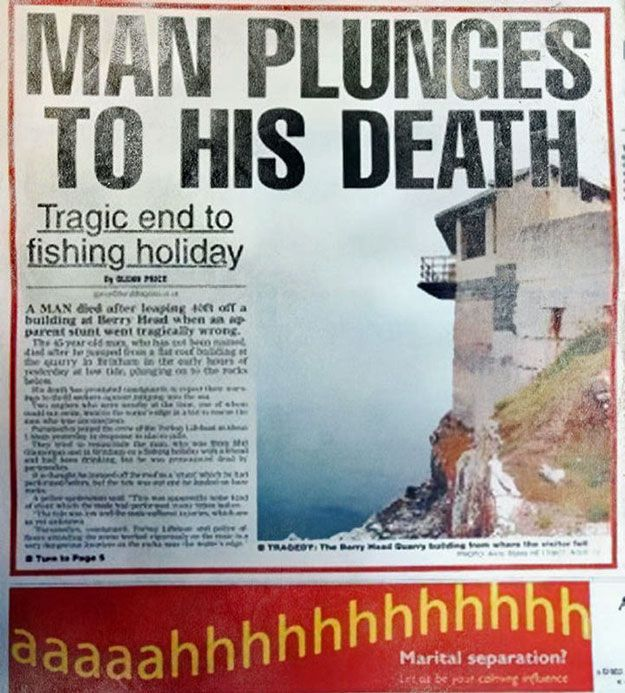 28 newspaper and magazine layout disasters buzzfeed - 625×693