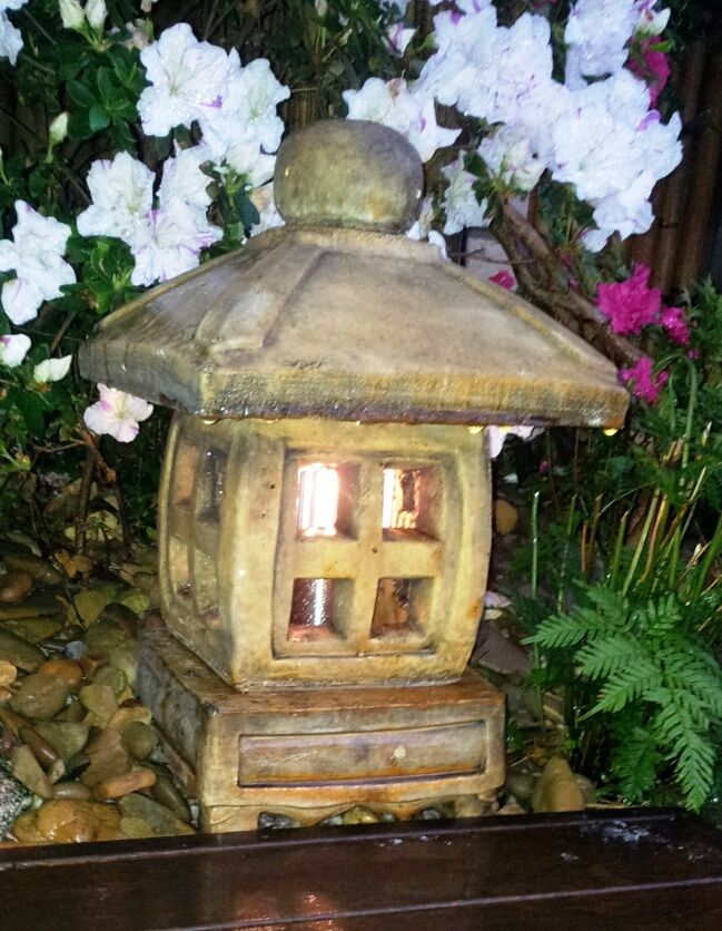 Small Japanese lantern