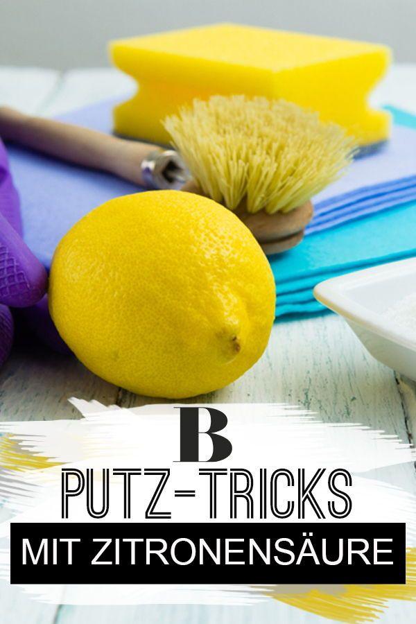 Zitronensaure Mit Diesen 6 Putz Tricks Wird S Sauber Putz Hacks