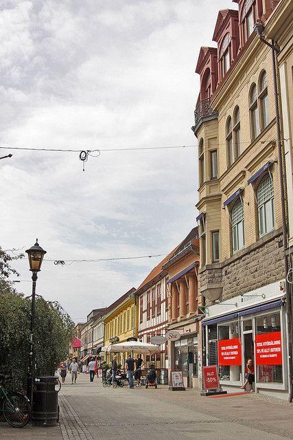 Storgatan i Halmstad.