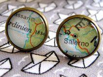 Ohrstecker Landkarte Sardinien Bronze CLARKIkind