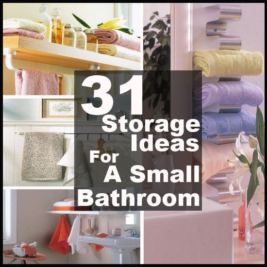 31 Creative St Diy Small Bathroom Storage Ideas Storage Organize Ideas Pinterest
