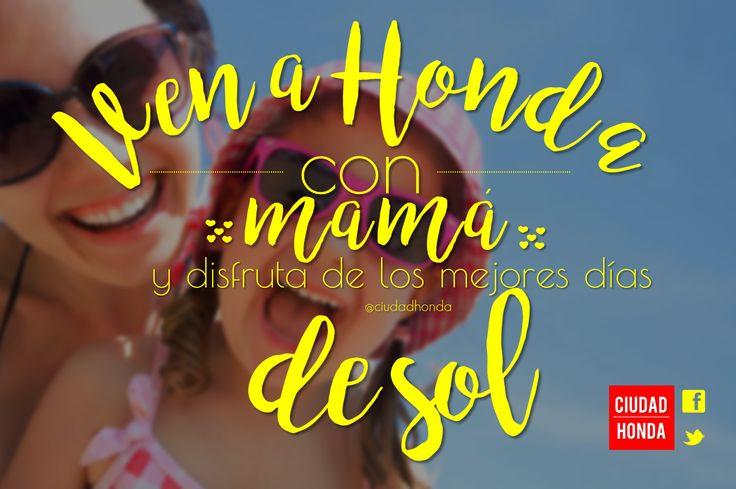Ven con #MAMA a #HondaTolima en el mes de la madres y disfruta de los hermosos días de Sol ☀ #Diadelamadre #happymothersday #Love