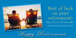 Simple Retirement Wishes