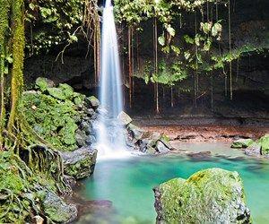 Breakthtaking natural beauty in Dominica