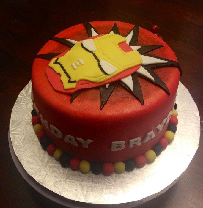 37 best Ironman images on Pinterest Ironman cake Superhero cake