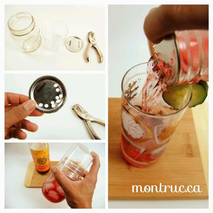 Cocktail shaker DIY