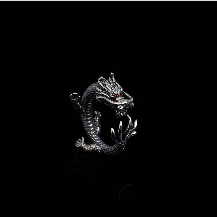 Dragon Hug Ring //Price: $34.69 & FREE Shipping //     #skull #skullinspiration #skullobsession #skulls