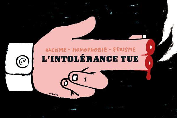 L'intolérance tue | Dugudus