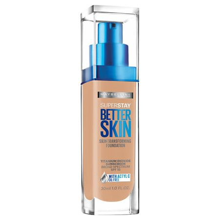 Maybelline SuperStay Better Skin Transforming Foundation