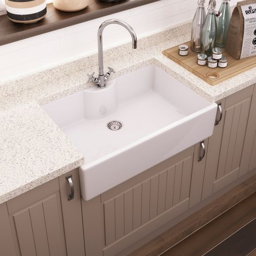 Create A Country Farmhouse Kitchen With The Oxford Butler Sink