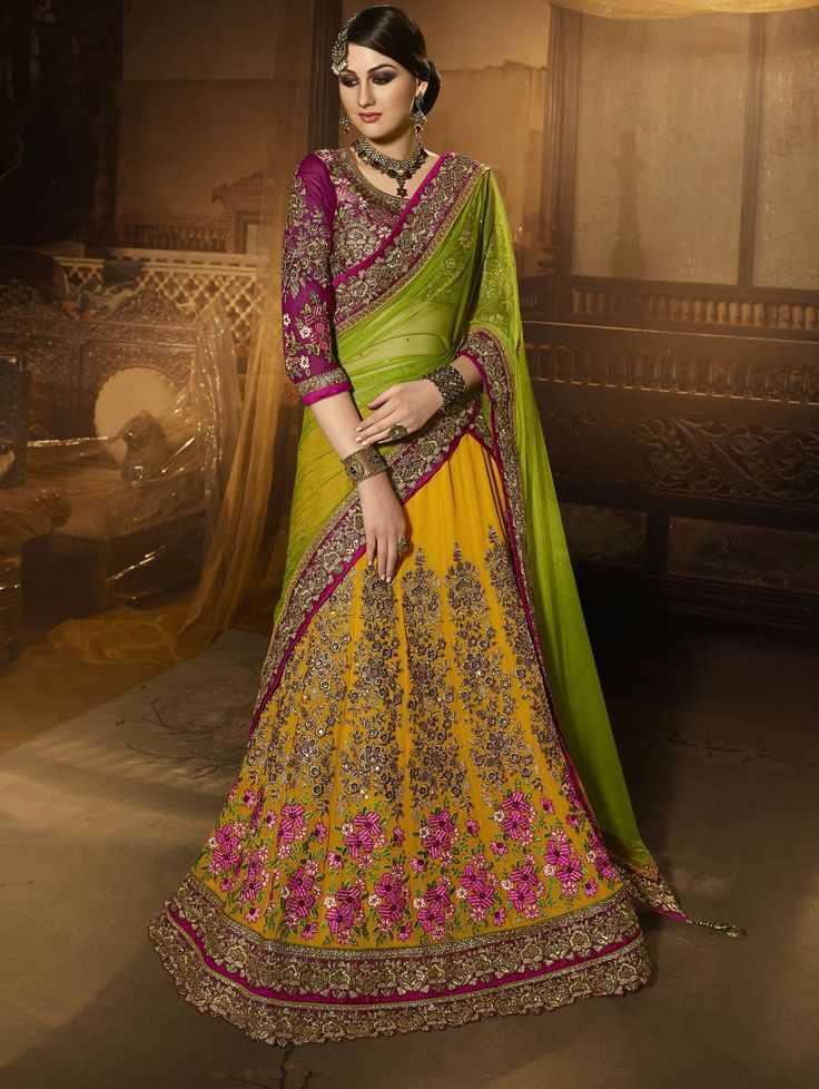 Lehenga: Buy Ghagra Choli Online & Latest ... - Cbazaar