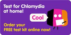 Order your FREE Chlamydia test kit online!