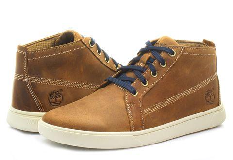 Timberland Topánky - Groveton Chukka - 6565A-BRN - Tenisky, Topánky, Čižmy, Mokasíny, Sandále
