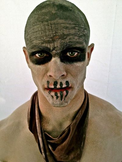 Potentially creepy Mad Max makeup, could be fore some of the ghosts