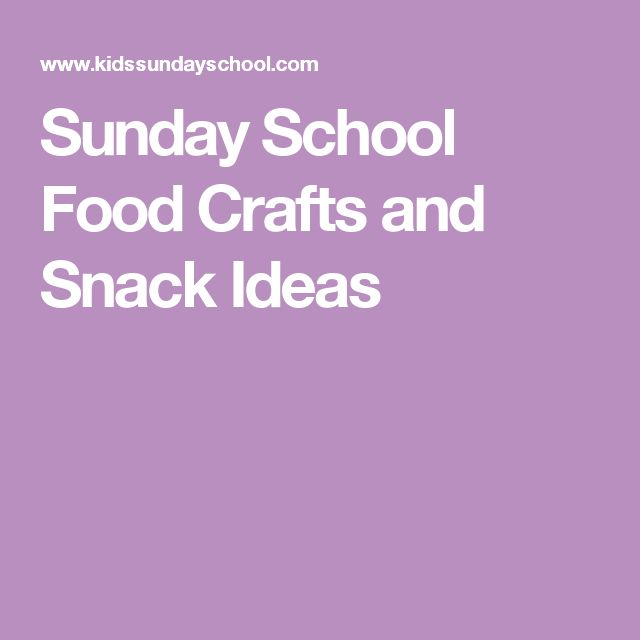 Snack Ideas for Vacation Bible School (with Pictures) | eHow