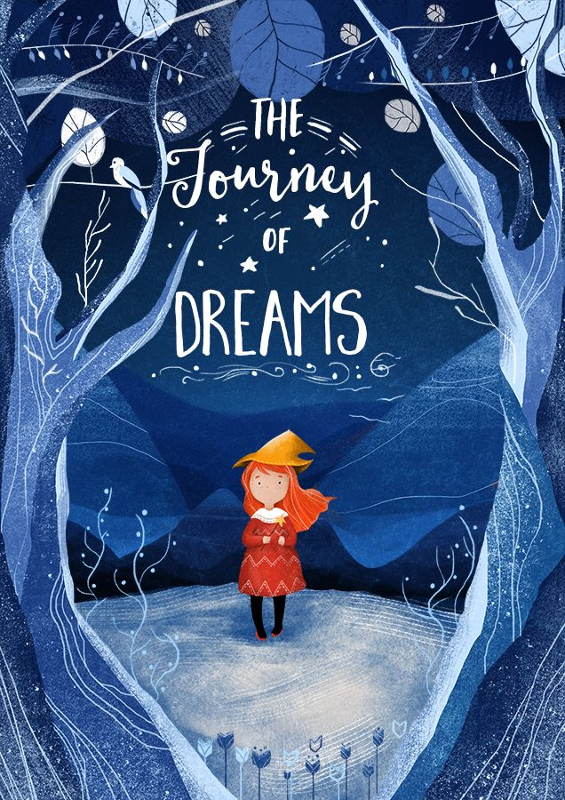 I chose this illustration because it gives me feeling of magic and coldness. Nguyen. T, (2015), The Journey of Dreams. Retrieved from: http://gallery.wacom.com/gallery/27832651/The-Journey-of-Dream-book-cover
