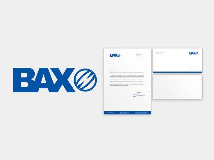 Lifting identyfikacji wizualnej firmy dla Bax Baumaschinen. #lifting #marketing #wizualizacja