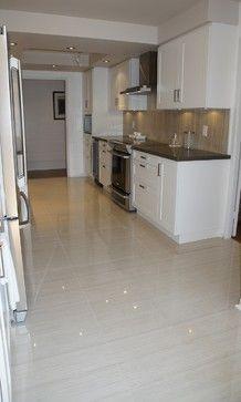 Large Format Porcelain Tiles   Modern   Tile   Toronto   By 7 Dimensions · Kitchen  Floor ...